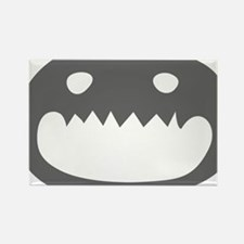 A Monster Face Rectangle Magnet