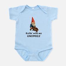 Rollin' With Gnomies Infant Bodysuit