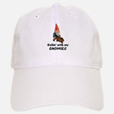 Rollin' With Gnomies Baseball Baseball Cap