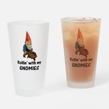 Rollin' With Gnomies Drinking Glass