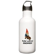 Rollin' With Gnomies Water Bottle