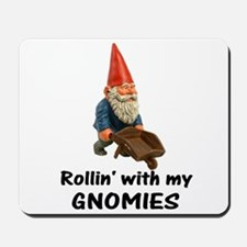 Rollin' With Gnomies Mousepad