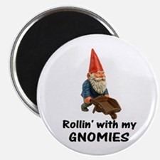 Rollin' With Gnomies Magnet
