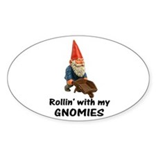 Rollin' With Gnomies Decal