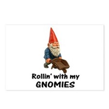 Rollin' With Gnomies Postcards (Package of 8)