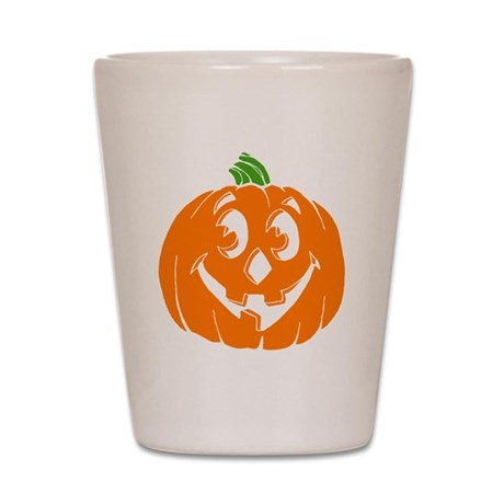 Halloween Pumpkin Shot Glass