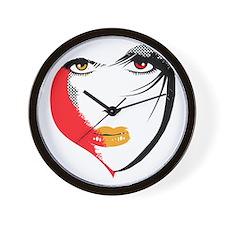 Vampire Eyes Wall Clock