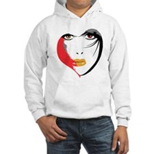 Vampire Eyes Hooded Sweatshirt