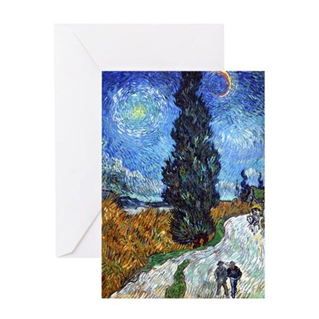 Van Gogh in Provence Greeting Card