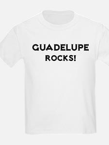 Guadelupe Rocks! Kids T-Shirt