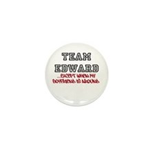Team Edward Except When My BF Mini Button (10 pack