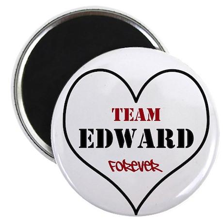 Team Edward Forever Magnet