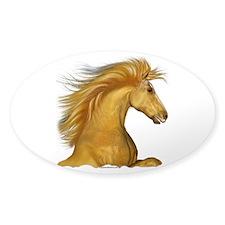 The Palomino Sticker (Oval)