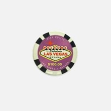 Las Vegas Sign Logo Mini Button