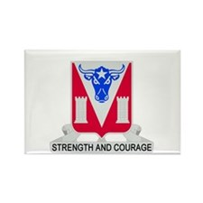 Cute Army engineer Rectangle Magnet (100 pack)