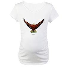 Majestic Eagle, Bird of Prey Maternity T-Shirt