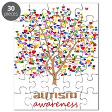 Tree of Autism Puzzle