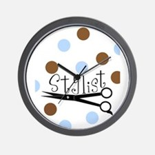 Stylists Wall Clock
