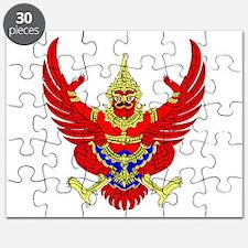 Thai Garuda Symbol Puzzle