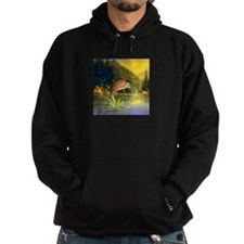 Rainbow Trout Jumping Hoody