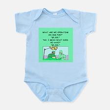 surgeon joke Infant Bodysuit