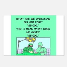 surgeon joke Postcards (Package of 8)
