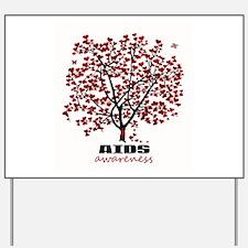 AIDS Awareness Yard Sign