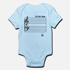 I'd Hit That (bass) Infant Bodysuit