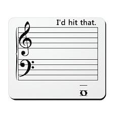 I'd Hit That (bass) Mousepad