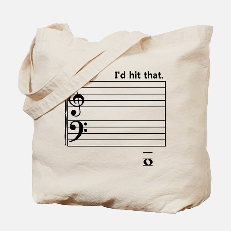I'd Hit That (bass) Tote Bag
