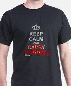 Keep Calm And Kill Zombies T-Shirt