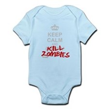 Keep Calm And Kill Zombies Onesie