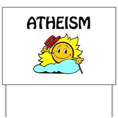 Atheism - Happy Sun Yard Sign