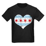 Chicago Kids T-shirts (Dark)