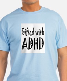 Light T-shirt for the person gifted with ADHD