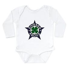 Chicago Police Irish Badge Long Sleeve Infant Body