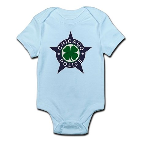 Chicago Police Irish Badge Infant Bodysuit