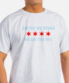 United We Stand Chicago Flag T-Shirt