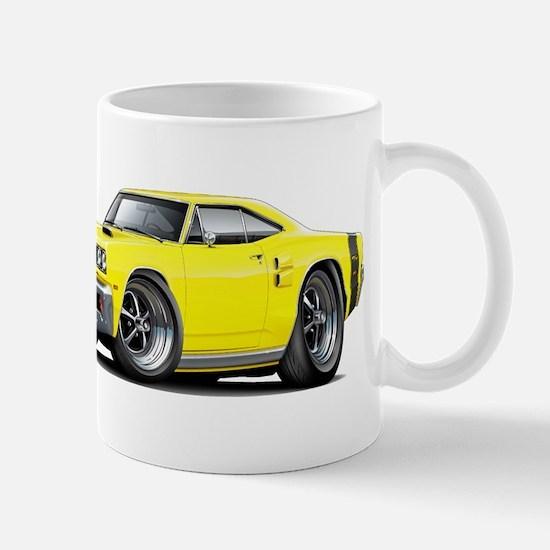 1969 Coronet Yellow Car Mug