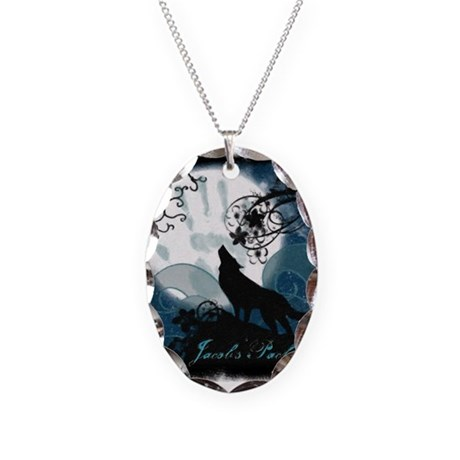 Jacob Blacks Designs Necklace Oval Charm