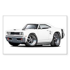 1969 Coronet White Car Decal