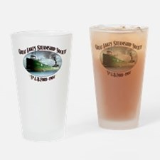 J.B. Ford Drinking Glass Full Color Design