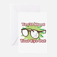 Shoot Eye Out Greeting Cards (Pk of 20)