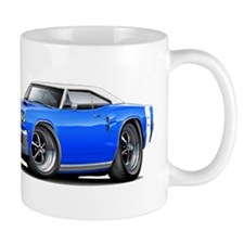 1969 Coronet Blue-White Car Mug