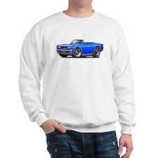 1969 Coronet Blue-Black Convert Sweatshirt