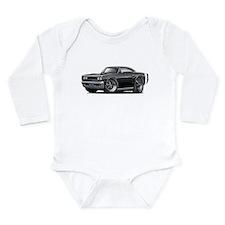 1969 Coronet Black Car Long Sleeve Infant Bodysuit