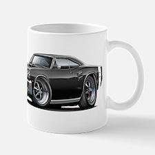 1969 Coronet Black Car Mug