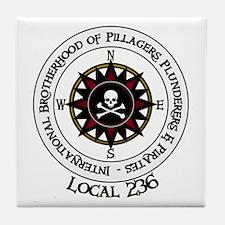 IBPPP Local 236 Tile Coaster