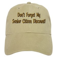 Cute Senior citizens Baseball Cap