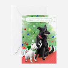 Yuki's First Christmas Greeting Card